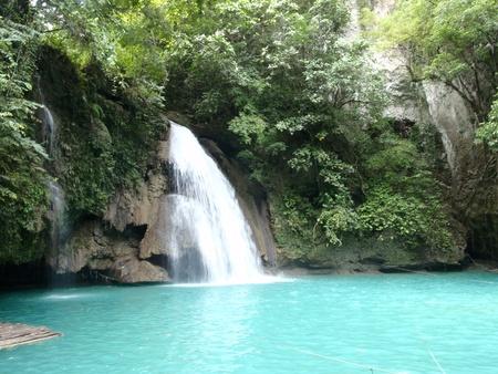 picknick: Kawasan Falls near Moalboal