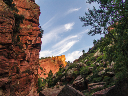 devonian: Old Red Sandstone, sedimentary rock