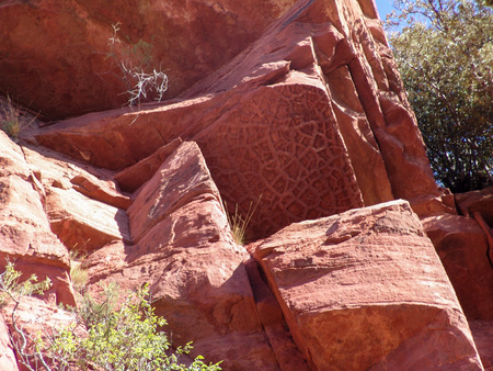 rock strata: Old Red Sandstone, sedimentary rock