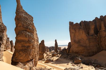 parch: Adventure in the Tassili Ahaggar, Algerian Sahara
