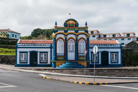 praia: Imperio da Caridade in Praia Da Vitoria, Terceira, Azores, Portugal