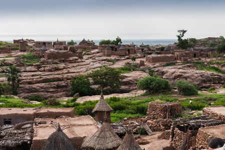 Overview Begnimatou, Dogon country, Mali. photo