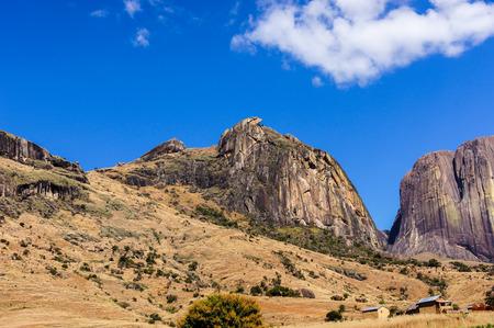 Mount Chameleon, Andringitra National Park, Madagascar. Stock Photo