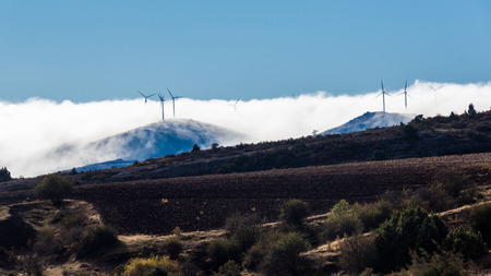 windfarms: Wind farm in Guadalajara, Spain