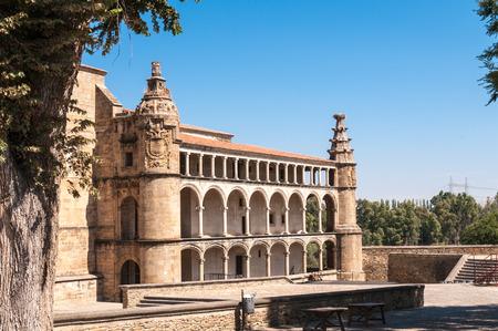 extremadura: Convent of San Benito de Alc?ntara, Caceres, Extremadura, Spain. Editorial