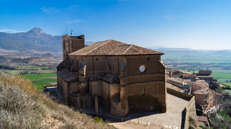 gothica: The collegiate church of Santa Maria Maggiore is a sixteenthcentury Gothic church situated in Bolea in the province of Huesca Aragon Spain.