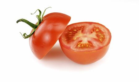 Sliced cluster tomato