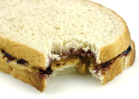 peanut butter and jelly: PBJ Sandwich