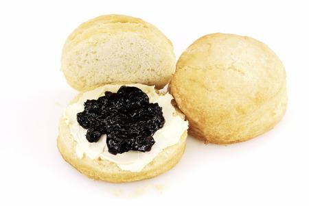 Fresh buttermilk biscuits Reklamní fotografie