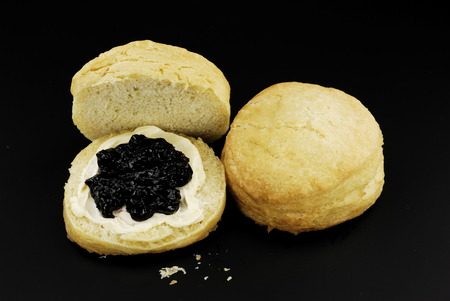 Fresh buttermilk biscuits 版權商用圖片