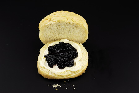 Fresh buttermilk biscuit