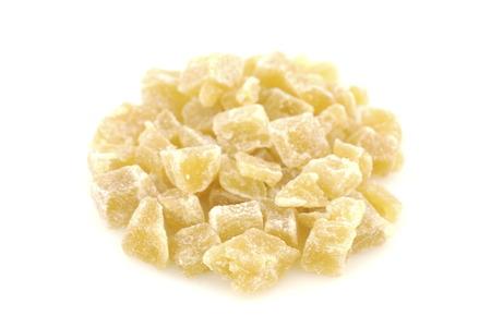 Diced dried pineapple