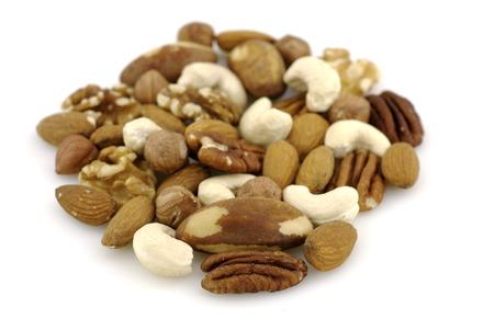 Mixed nuts Stok Fotoğraf