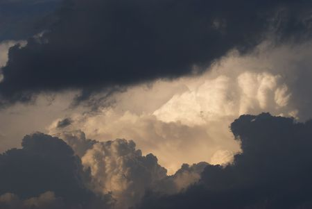 Image of storm clouds (some noise at full size). Stock Photo - 3187380