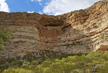 Montezuma Castle National Monument Native American Indian Ruins.