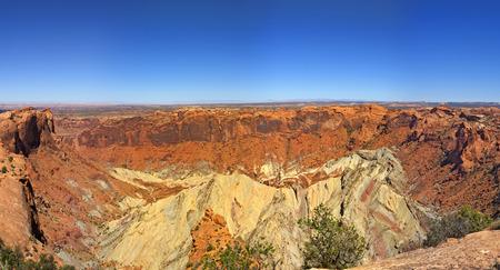 upheaval: Upheaval Dome, Canyonlands National Park, Utah USA.
