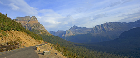 Going-to-the-Sun-Road, Glacier National Park, Montana.