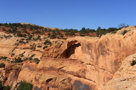canyonlands: Mesa Arch, Canyonlands National Park, Utah USA.