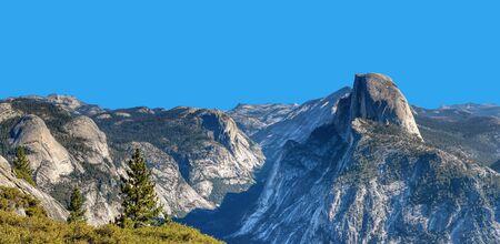 Half Dome, Yosemite National Park, California Stock Photo