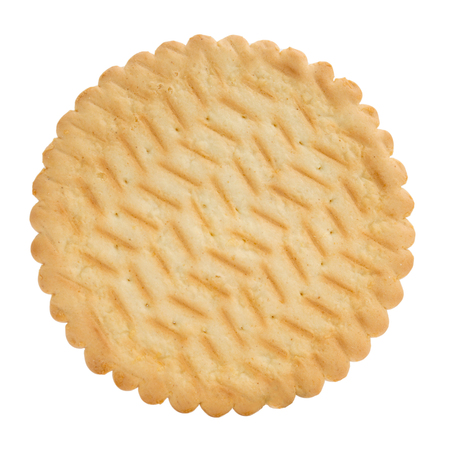 Cracker cookie isolated on a white background Stock Photo