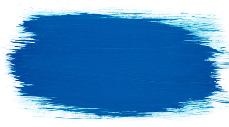 Blue abstract aquarel watercolor background for design
