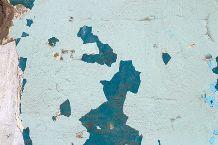 Peeling paint on wall seamless texture pattern of rustic grunge material.