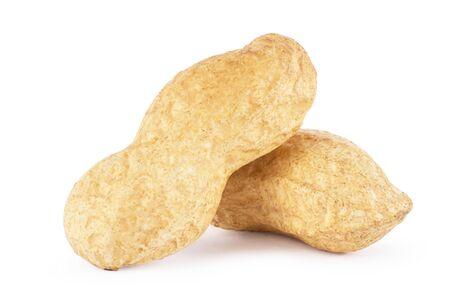 Dried peanuts in closeup Reklamní fotografie