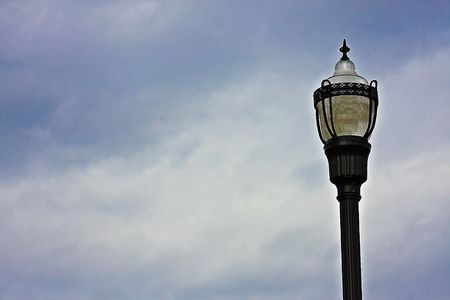 lamp post: Lamp post