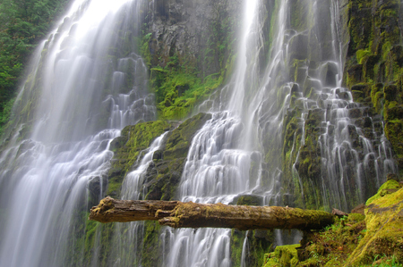 proxy falls: Santiam Falls