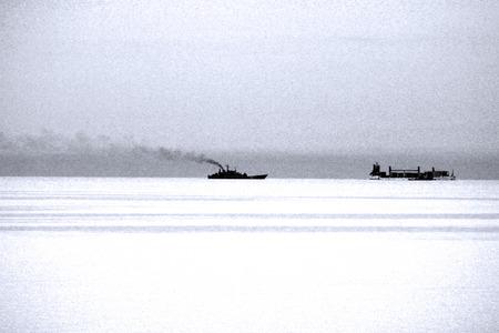 baltic sea: The cruise shipe in the Baltic sea