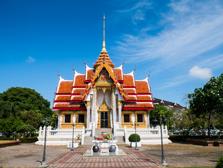 Songklan Temple at Songklan province South of Thailand (Asia)
