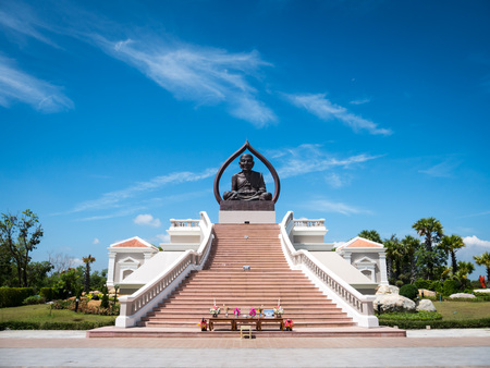 The big buddha  of Luang Pu Thuat  at south of Thailand
