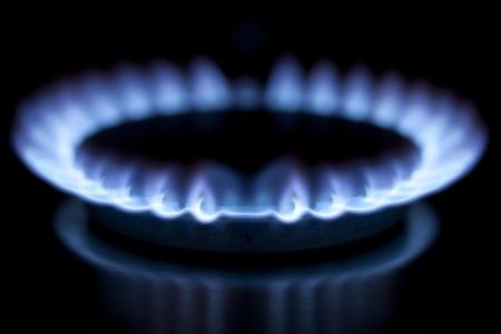 gas cooker: De consumo de gas en la cocina