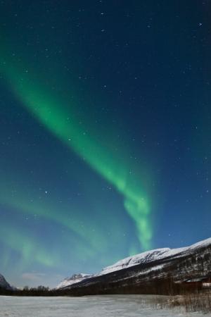 Aurora Borealis, Tromsø, Norwegen Standard-Bild - 14610029
