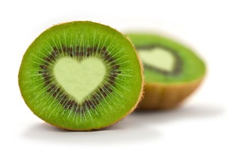 kiwi fruta: Kiwi encanta Foto de archivo