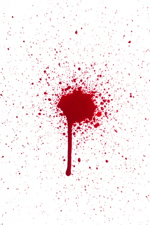 Blood splat photo