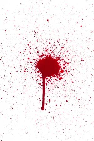 Blut splat Standard-Bild - 14974000