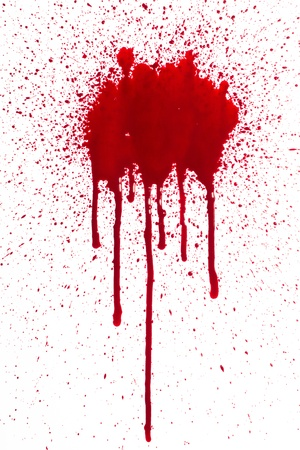 Blood splatter photo