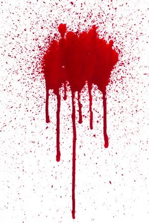bloodstain: Blood splatter
