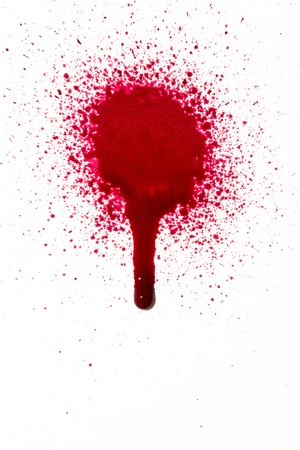 Blood drip photo