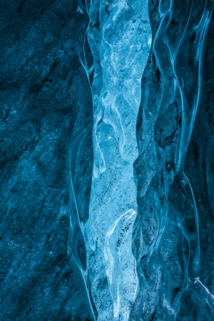 crevasse: Inside and Ice cave crevasse