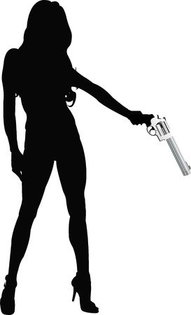 gun lover Stock Photo