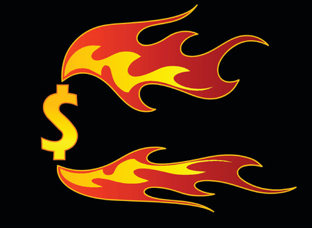 flame Stock Vector - 964293