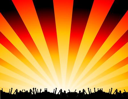 baile hip hop: fiesta Vectores