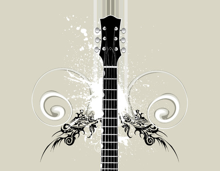 guitar Stock Vector - 1431323