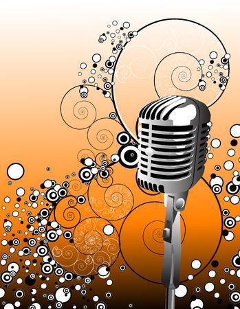 microphone Stock Vector - 1622974