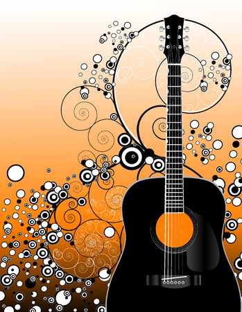 guitar Stock Vector - 1622958