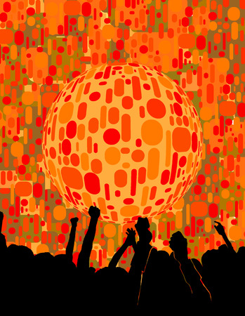 geosphere: party Illustration