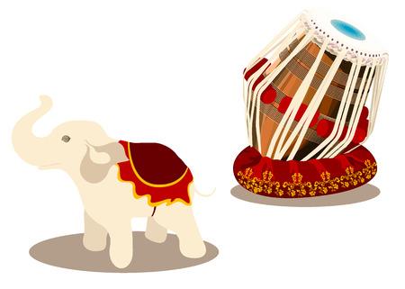 tame: elephant