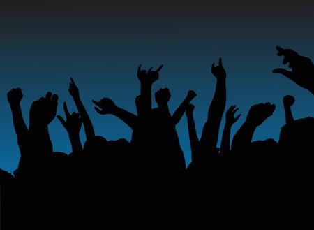 dancefloor: party Illustration